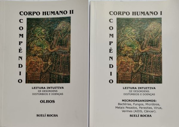Compre 2 Livros Corpo humano I e II