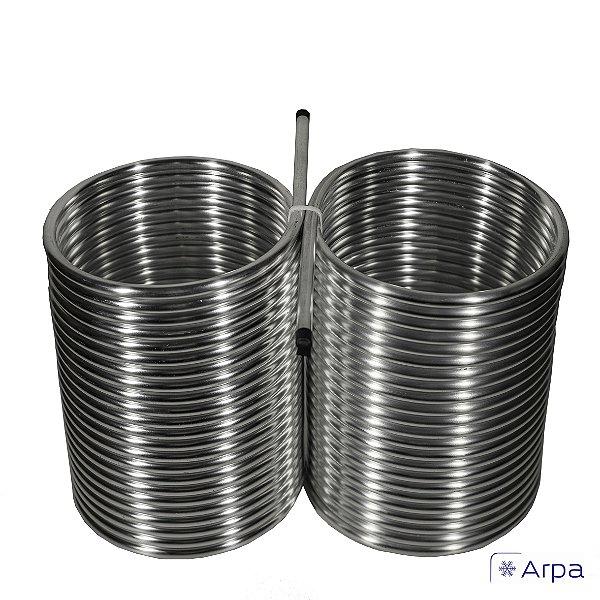 Serpentina 3/8 em alumínio para chopeira a gelo (24m)