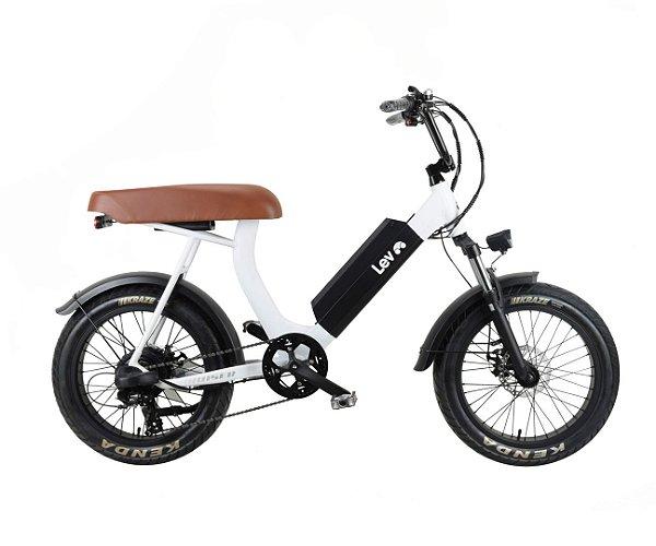 Bicicleta Elétrica Lev Cruiser - Branca