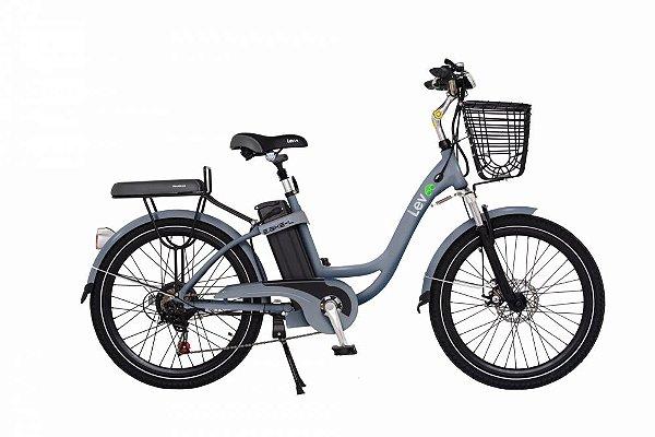 Bicicleta Elétrica Lev E-bike L Aro 24 - Cinza Espacial