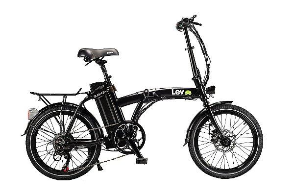 Bicicleta Elétrica Lev E-bike D Aro 20 - Preta