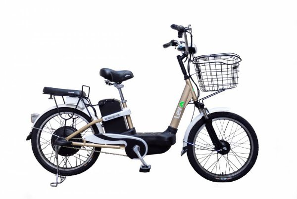 Bicicleta Elétrica Lev E-bike S Aro 22 - Dourada