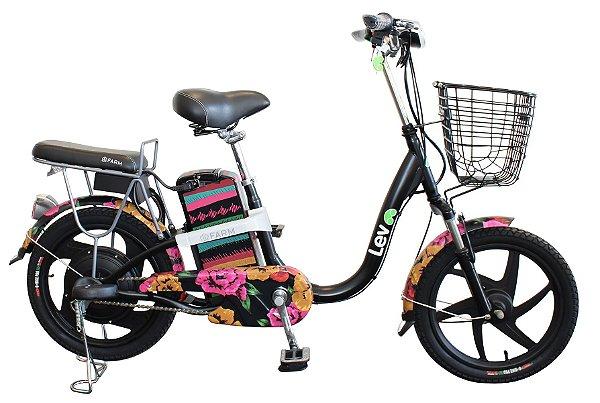 Bicicleta Elétrica Lev FARM E-bike Aro 18 - Chita