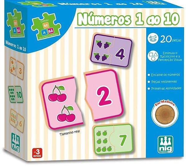 jogo números do 1 ao 10 - nig