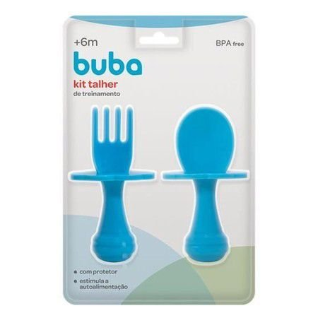 kit talher azul - buba