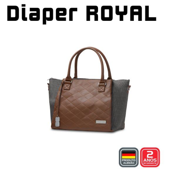 Bolsa Diaper Bag Royal - Asphalt - ABC Design