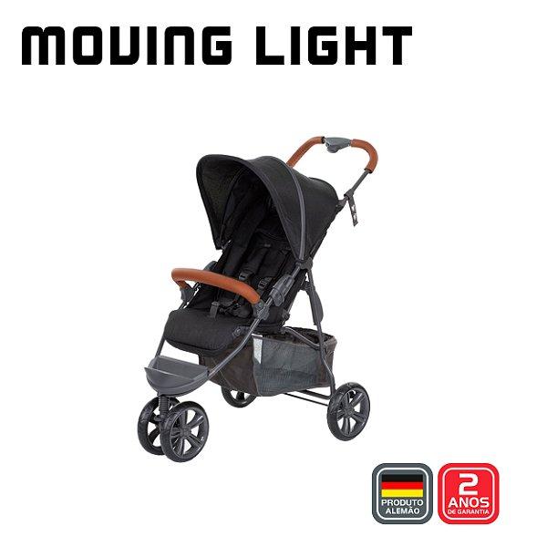 Carrinho Moving Light Woven Black - ABC Design