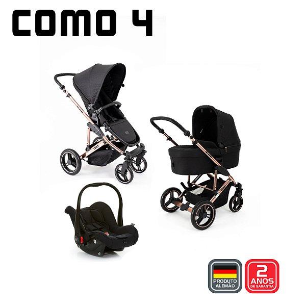 Carrinho COMO4 Trio - Rose Gold Diamond - ABC Design