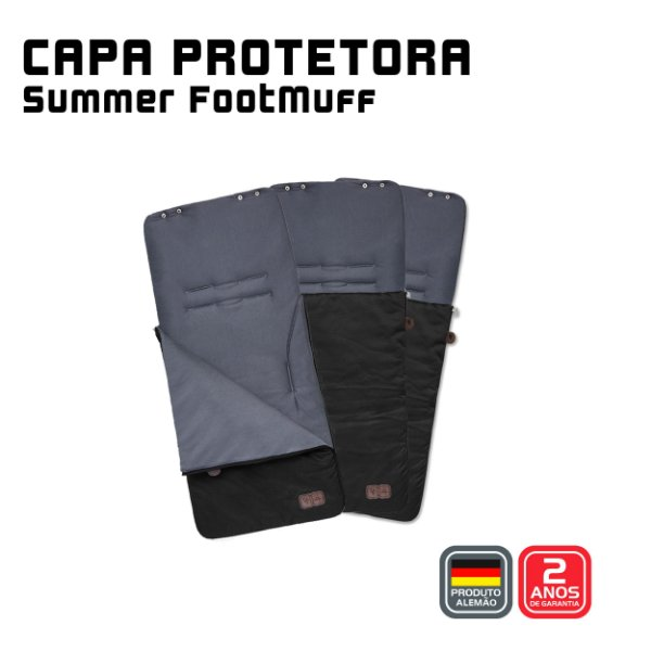 Capa protetora Summer FootMuff Gravel- ABC Design