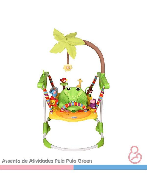 Assento de atividades pula-pula Green - Galzerano