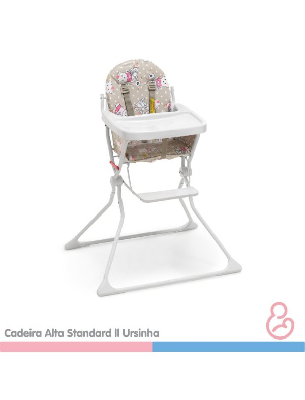 Cadeira Alta Standard II Ursinha - Galzerano