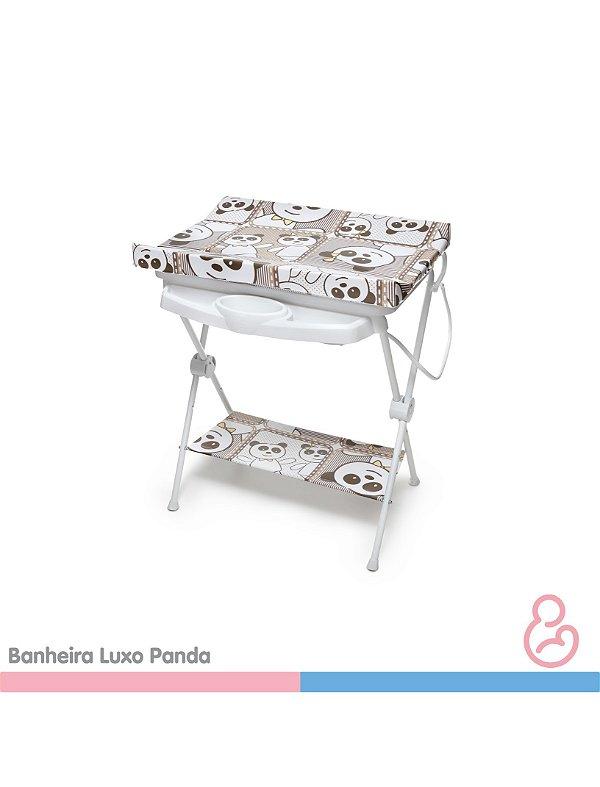 Banheira Bebê plástica luxo Panda - Galzerano