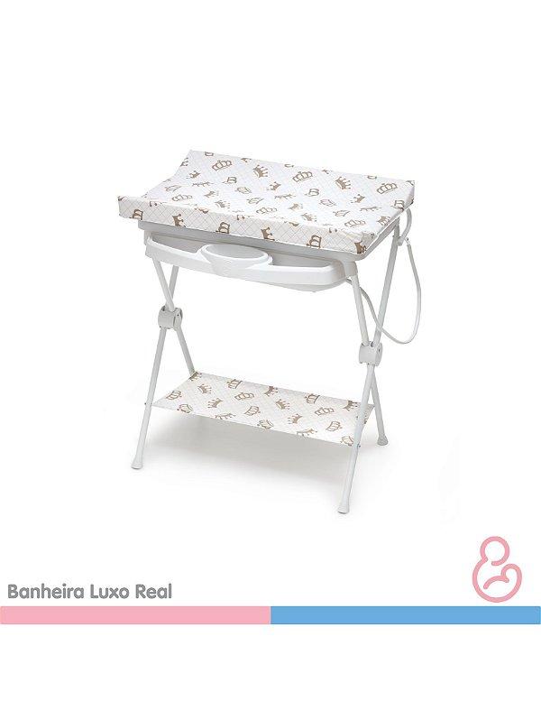 Banheira Bebê plástica luxo Real - Galzerano