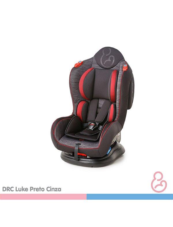 Cadeira auto Luke Preto e Cinza - Galzerano