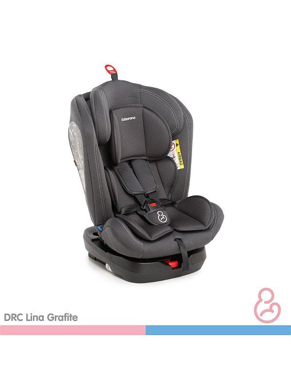 Cadeira auto Lina Grafite - Galzerano