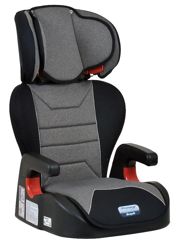 Cadeira Protege Reclinável Mesclado Cinza - Burigotto