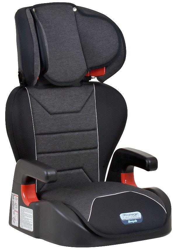 Cadeira Protege Reclinável Mesclado Preto - Burigotto