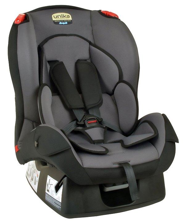 Cadeira Unika Cinza com detalhe Preto - Burigotto