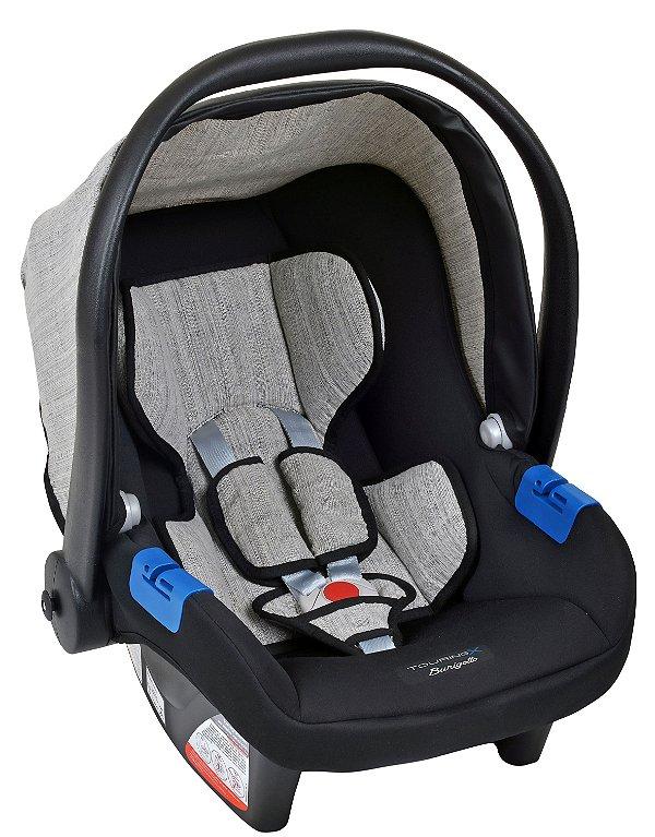 Bebê conforto Touring X Mesclado Cinza - Burigotto
