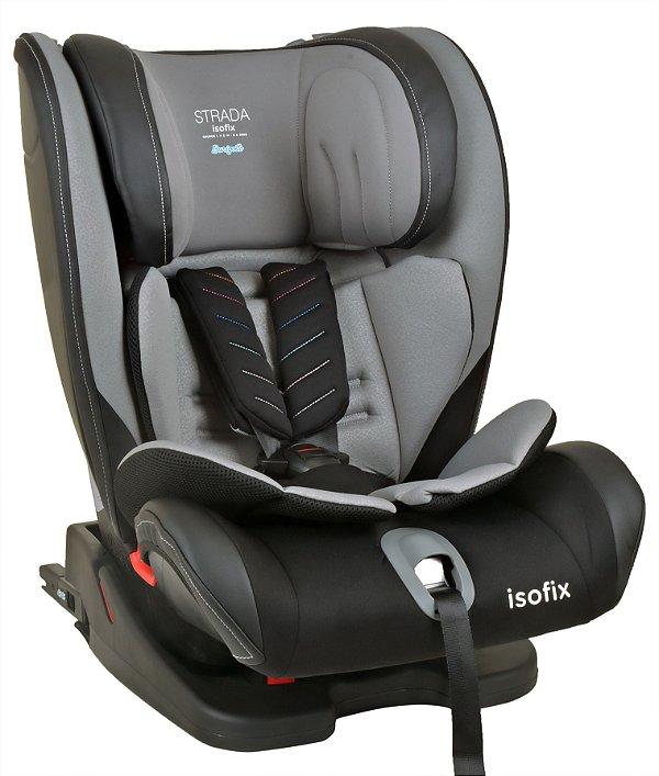 Cadeira auto Strada Isofix Black Grey Black - Burigotto
