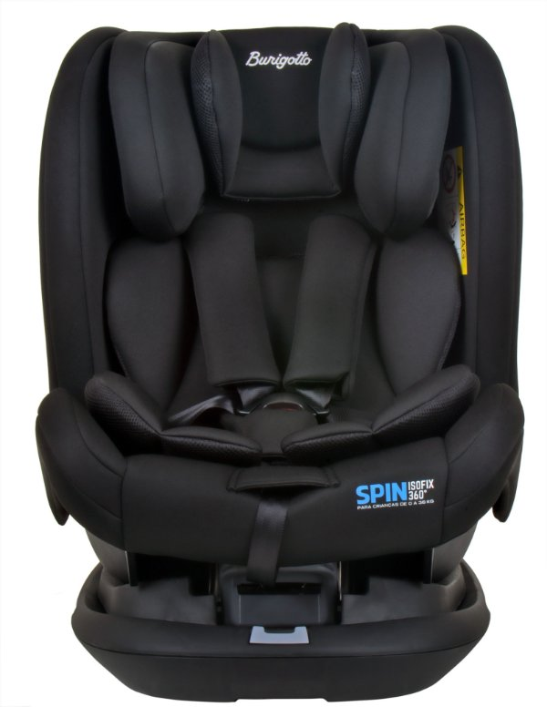 Cadeira auto Spin 360º Isofix Preto - Burigotto
