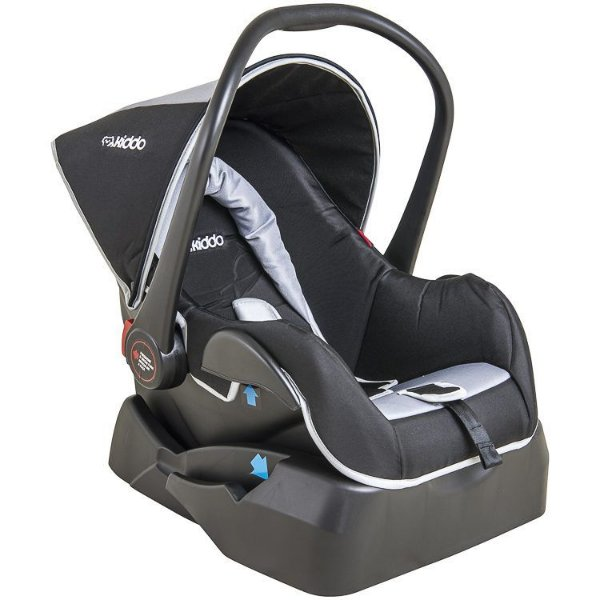 Bebê Conforto Casulo Click 415 H Preto/Cinza - Kiddo