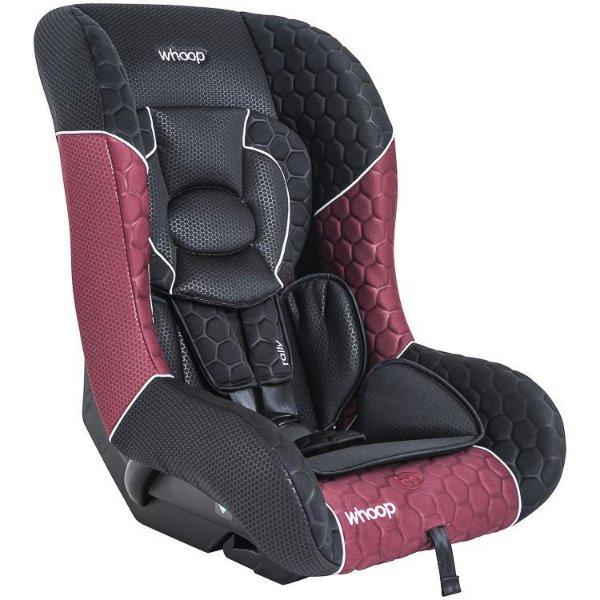 Cadeira para Auto Rally Preto/Vinho - Kiddo