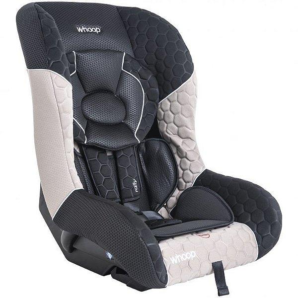 Cadeira para Auto Rally Preto/Capuccino - Kiddo