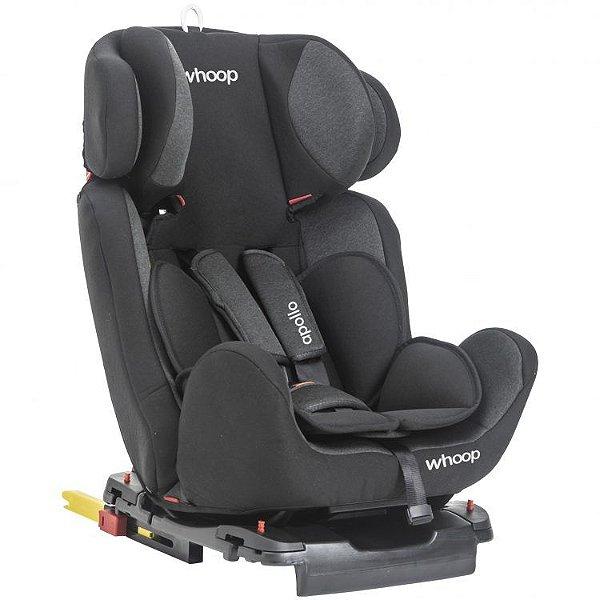 Cadeira para Auto Apollo Preto - Kiddo