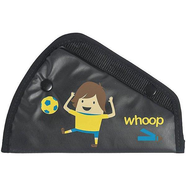 Posicionador para cinto de segurança Futebol - Kiddo