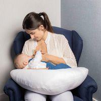 Almofada de amamentação Branco - Infanti