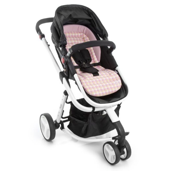 Almofada Safe Comfort Plaid Pink - Safety 1st