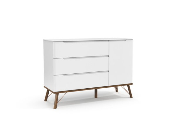 Cômoda Albi Branco Soft EcoWood - Matic