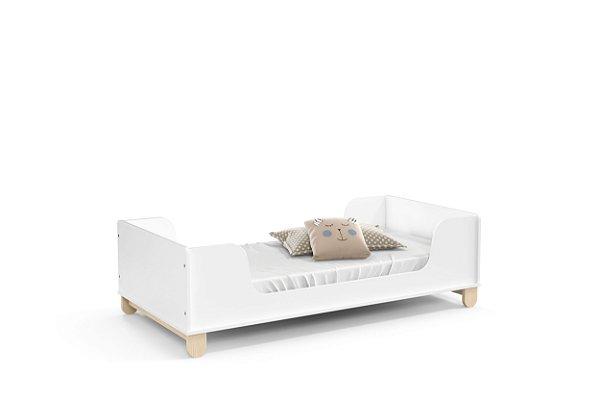 Mini cama Zupy Branco Soft Natural - Matic