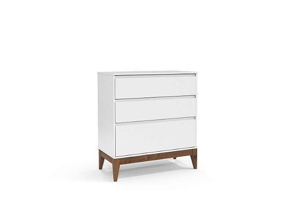 Cômoda Nature Clean Branco Soft EcoWood - Matic