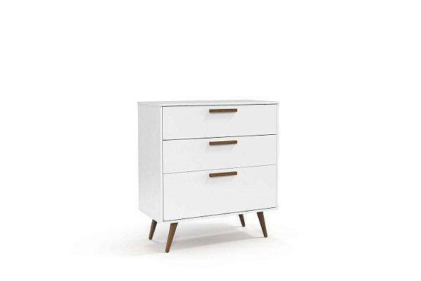 Cômoda Retrô Branco Soft EcoWood - Matic