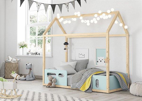 Mini cama Liv Menta Natural - Matic