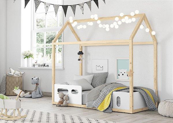 Mini cama Liv Branco Soft Natural - Matic