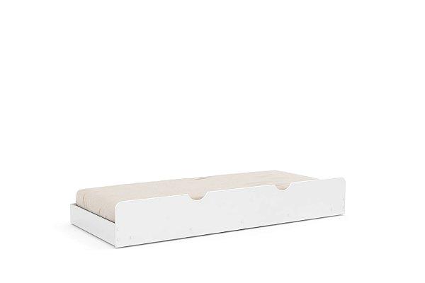 cama auxiliar branco soft - matic