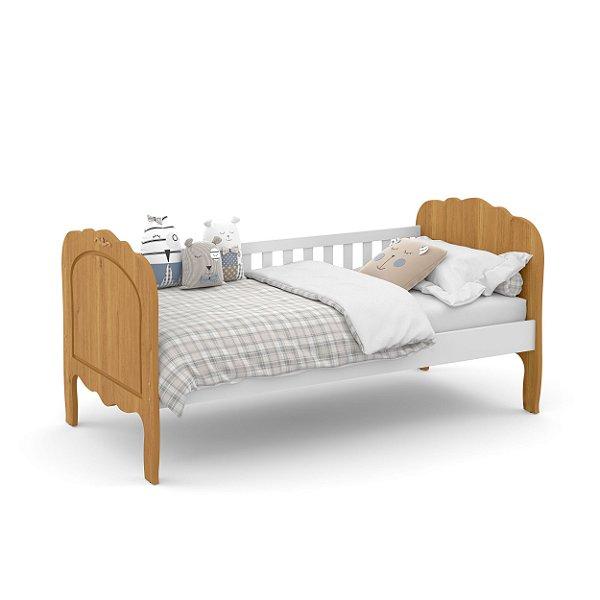 cama baba provence branco soft freijo - matic