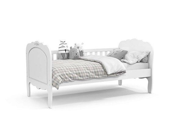 cama baba provence branco soft - matic