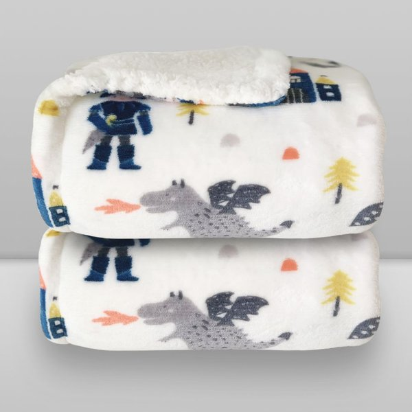 cobertor estampado príncipe