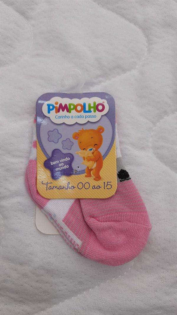 meia coala rosa 00 a 15 - pimpolho