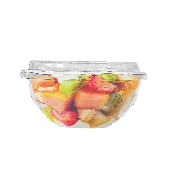 KIT - Bowl Udon Cristal - 17x17 - 600 mL - Praticpack - Caixa 100 unid