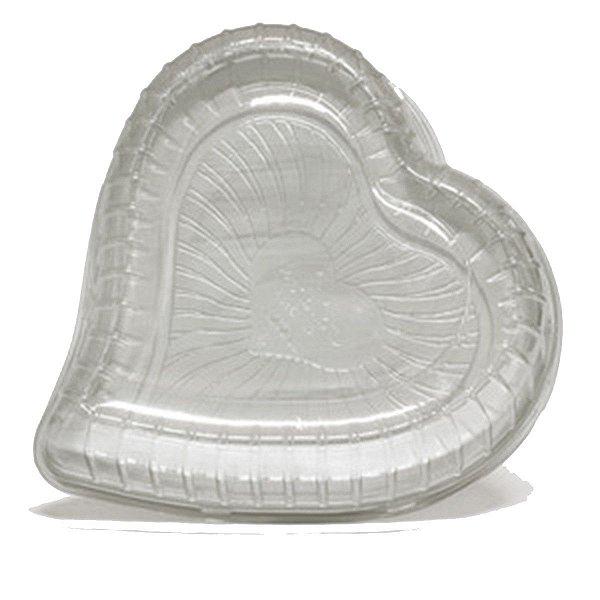 KIT - Embalagem Torta Coração Peq. - 1,5kg - Galvanotek -G 50H - Cx c/ 50 und