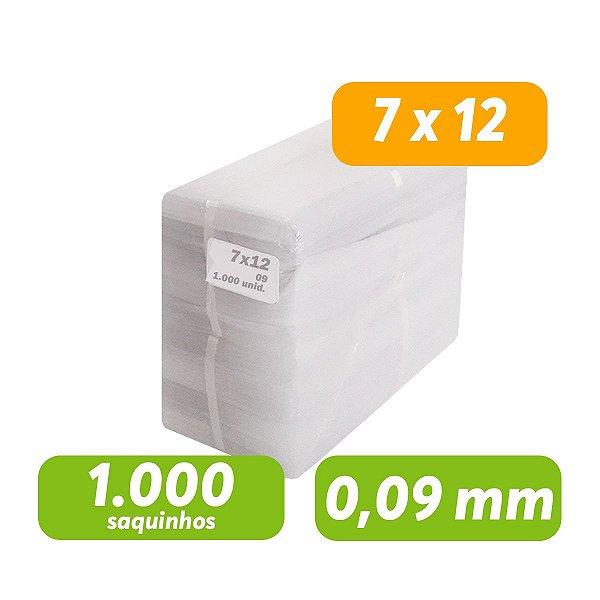 Saco Plástico PEBD 7x12x0,09 Pct c/ 1.000 und