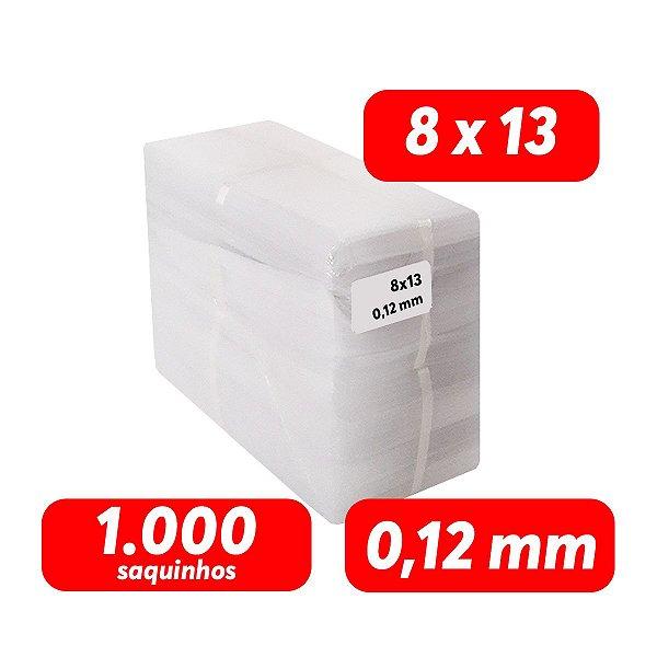 Saco Plastico PEBD 8x13x0,12 Pct 1.000