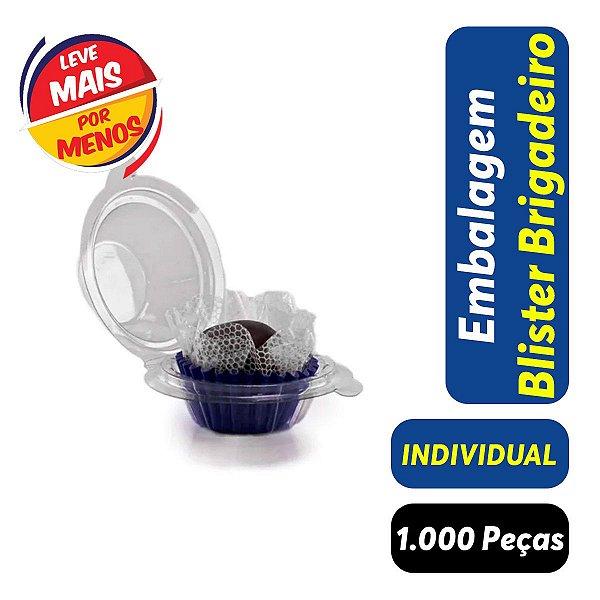 KIT - Blister Docinho, Brigadeiro - Individual - 3,5x3,0 - Praticpack - Pct com 1.000 unid.