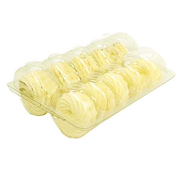 KIT - Blister Macarons - 10 Cavidades - Praticpack - Pacote c/ 50 unidades