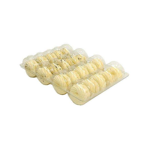 KIT - Blister Macarons - 20 Cavidades - Praticpack - Caixa c/ 100 unidades